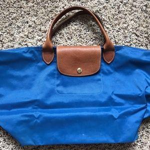 Longchamp Le Pliage medium Bag blue